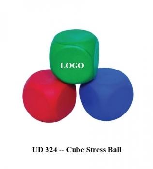UD 324 — Cube Stress Ball